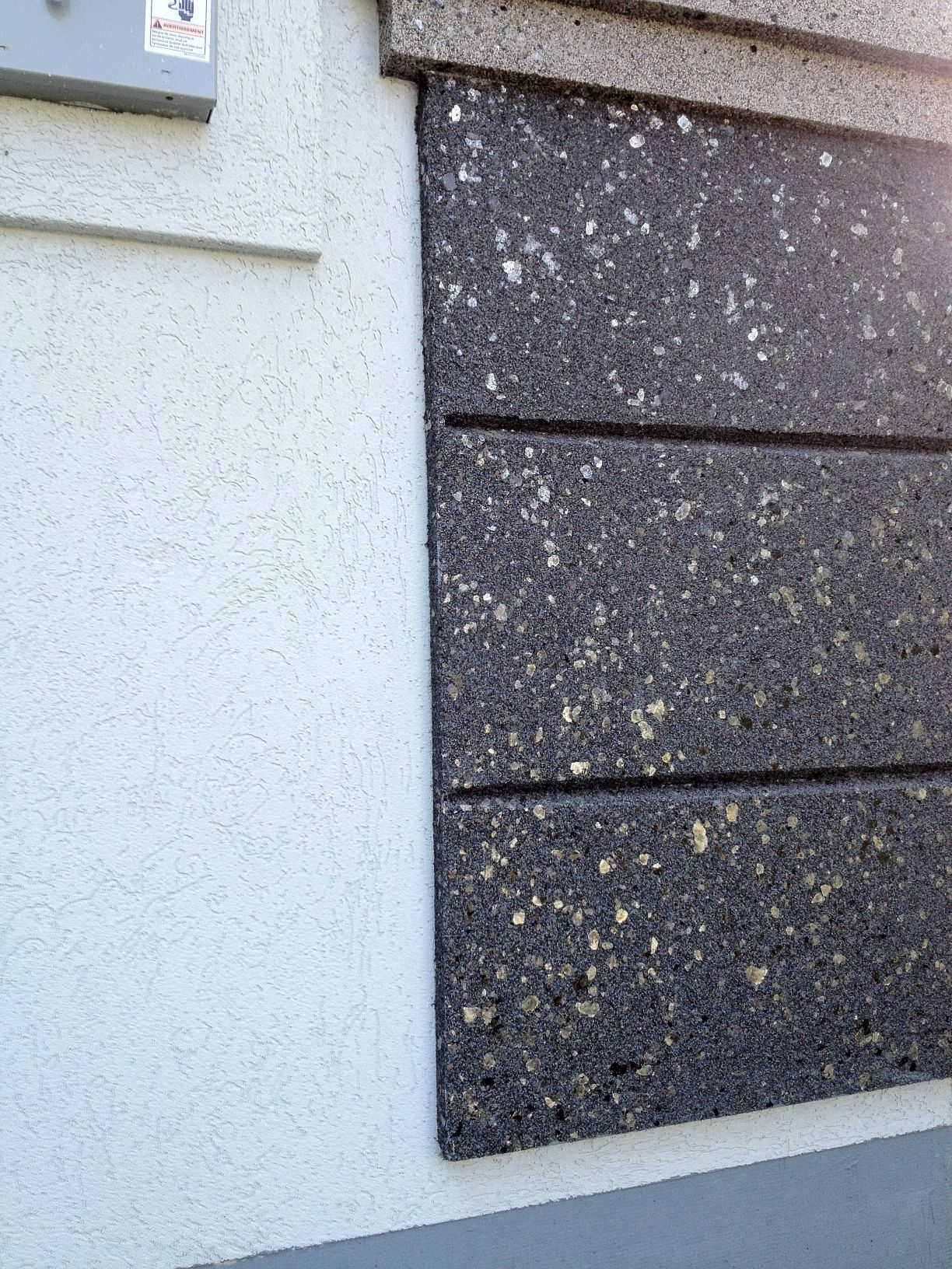 how to change start to finish acrylic stucco wall