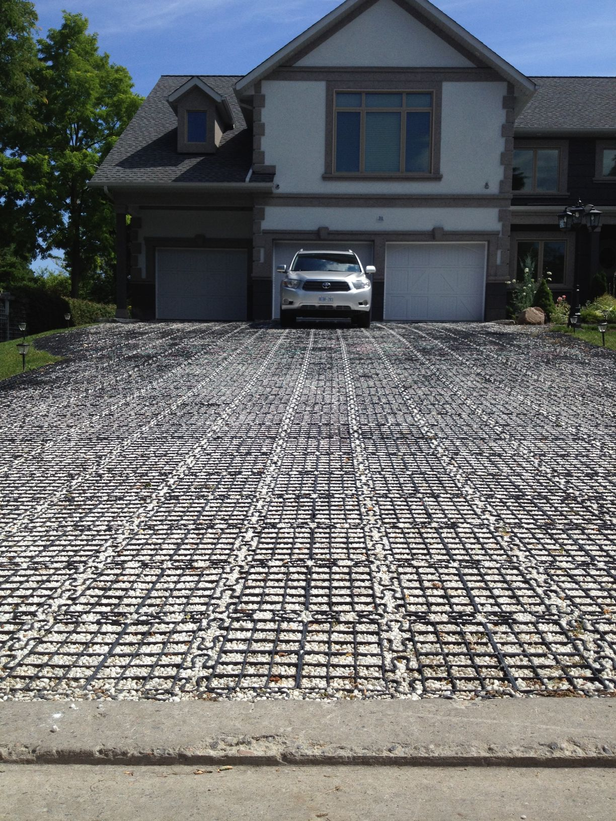 Permeable Driveway The ECO Built Home
